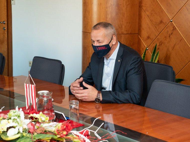 Návšteva vedenia MTS ubanskobystrického primátora